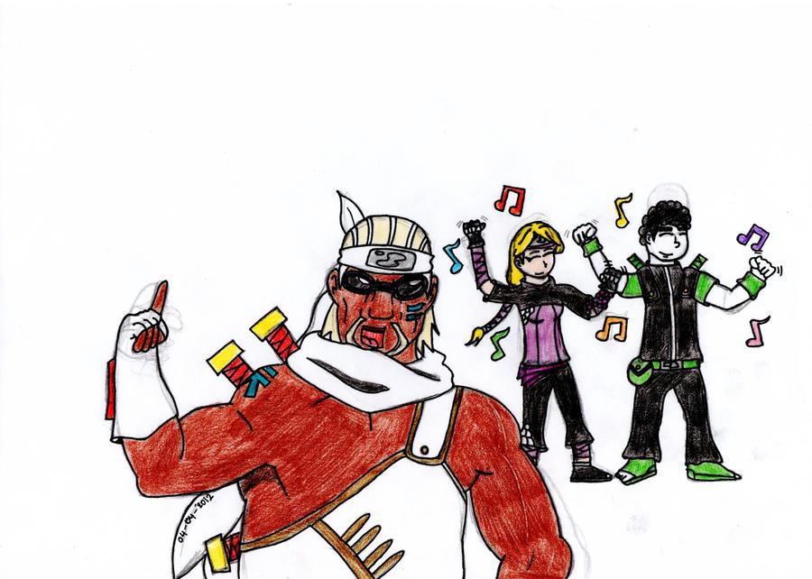 Yugito Nii, Me And Killer Bee! by Oeriya258 on DeviantArt