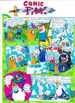 Adventure Time comic: Ice king's prank