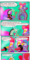 Hearts and Hooves Day with Discord by seriousdog