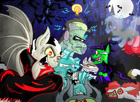 Have a Pony Halloween!: The (kind of) remake by seriousdog