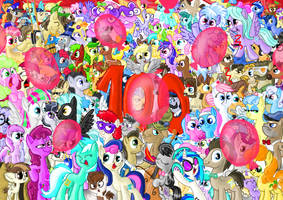 100 episodes of MLP! by seriousdog