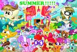 Summer break in Ponyville!