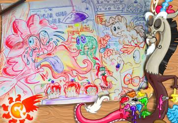Dibujo del concurso de la Summer Wrap Up by seriousdog