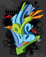 ReVoLuTiOn Graff by xaosone