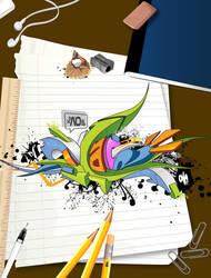 Homework by xaosone