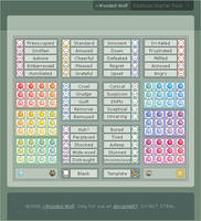 Emoticon Starter Pack V2.0 by Wooded-Wolf