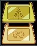 Digimon Crests - Golden