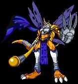 Request: Angemon Xros MetalGreymon by Wooded-Wolf