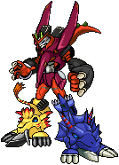 Megazord Xros Recolour by Wooded-Wolf