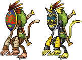 Sepikmon Sprite by Wooded-Wolf