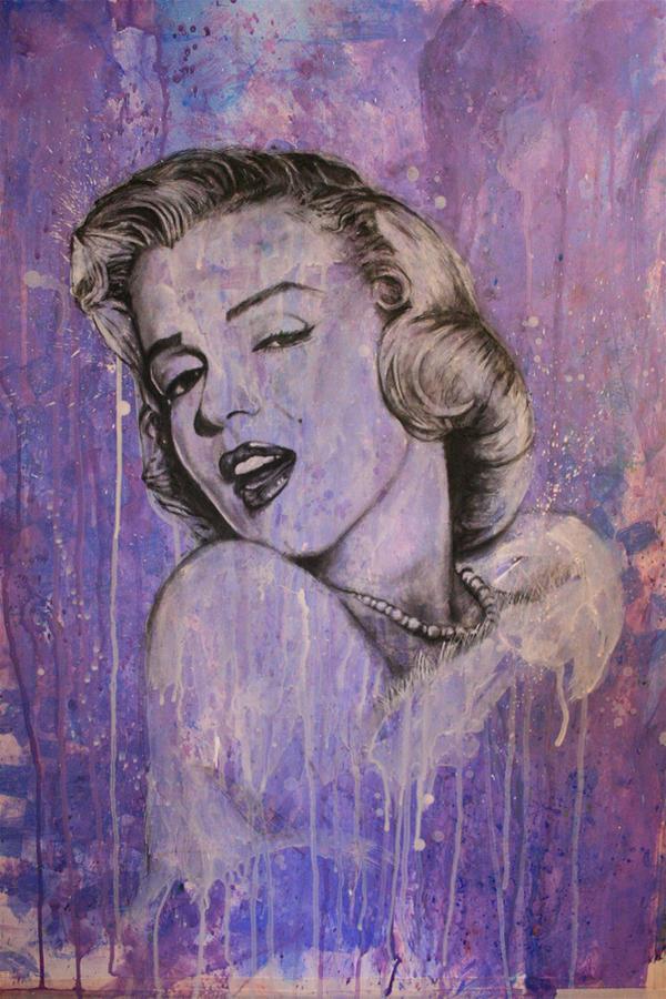 Marilyn Monroe- Mixed Media by shawnie-b