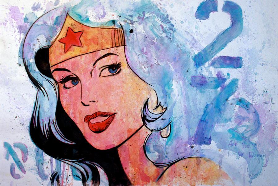 Wonder Woman by shawnie-b
