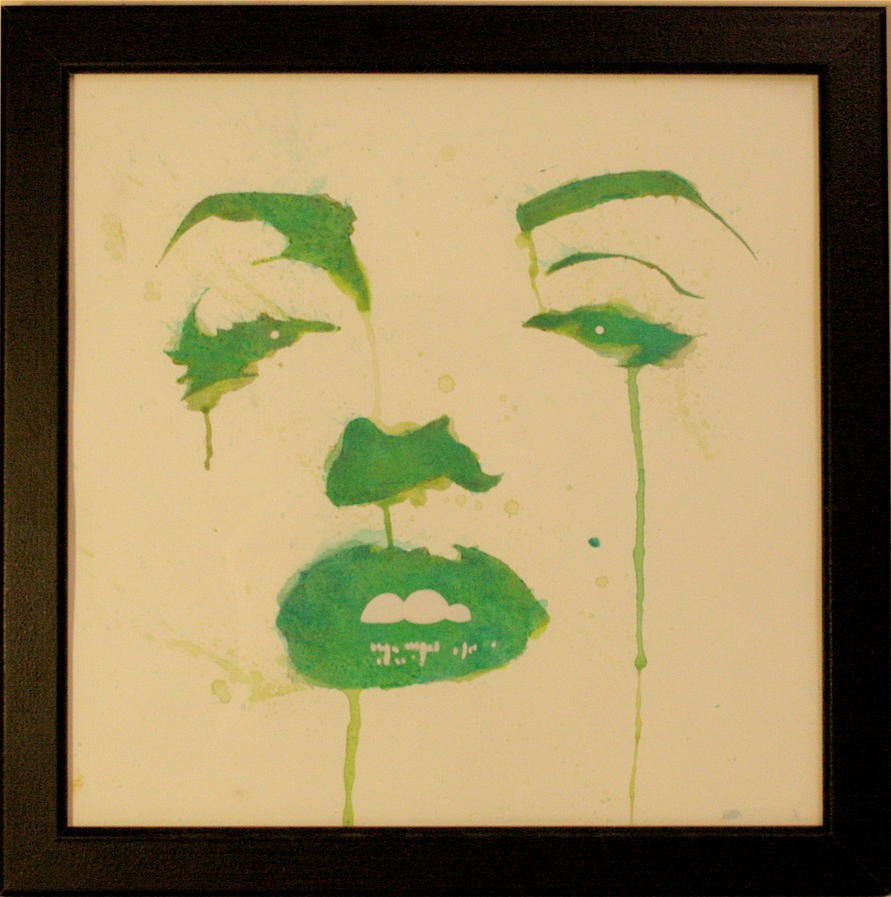 Marilyn- Green Tears by shawnie-b