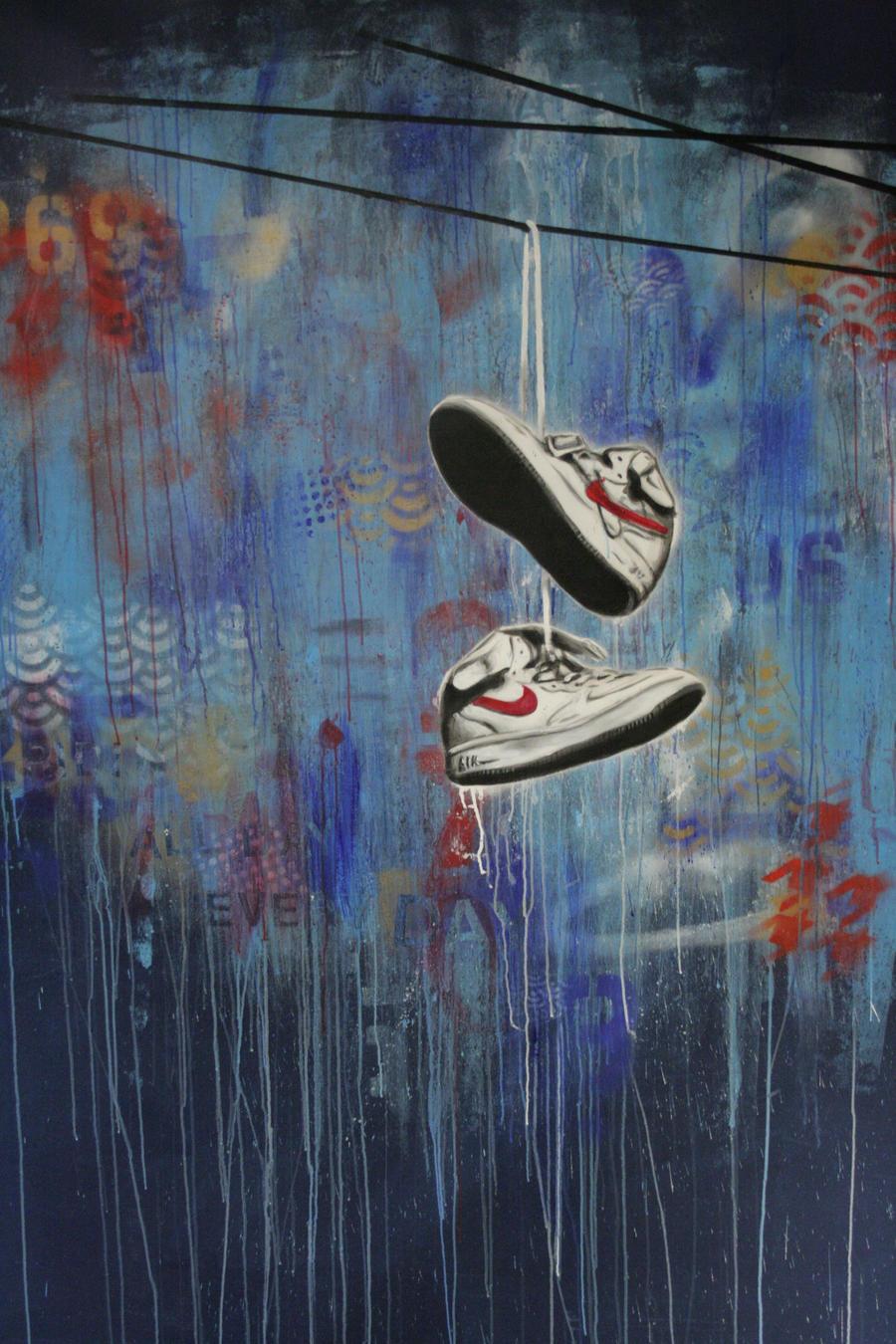 Nike Toss Mural by shawnie-b