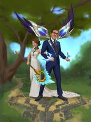 Wedding Portrait LoL style
