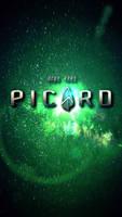 Picard Logo Phone Wallpper