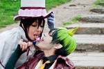 Amaimon and Mephisto, Kiss (?)