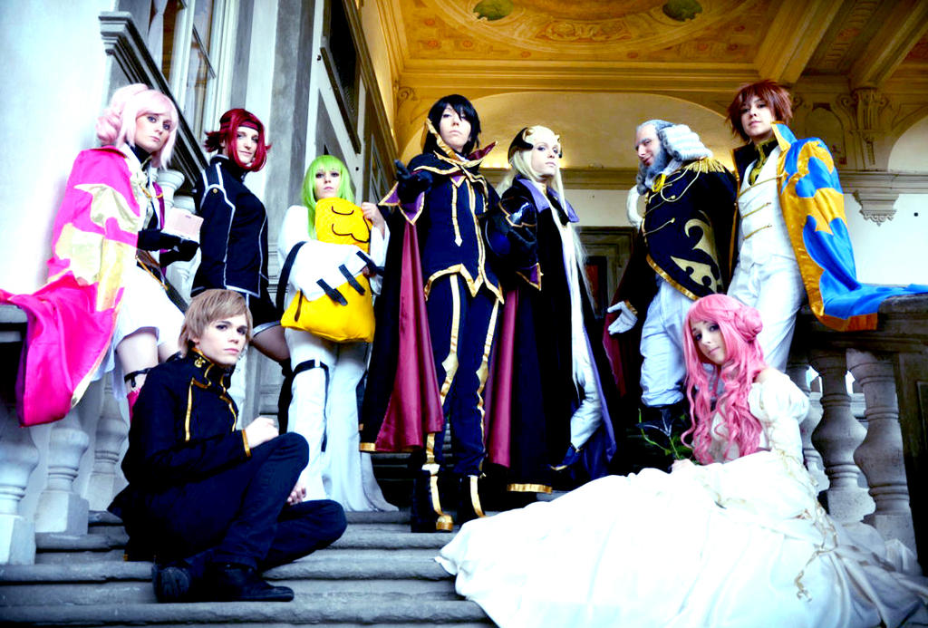 Code Geass, Group by hakucosplay