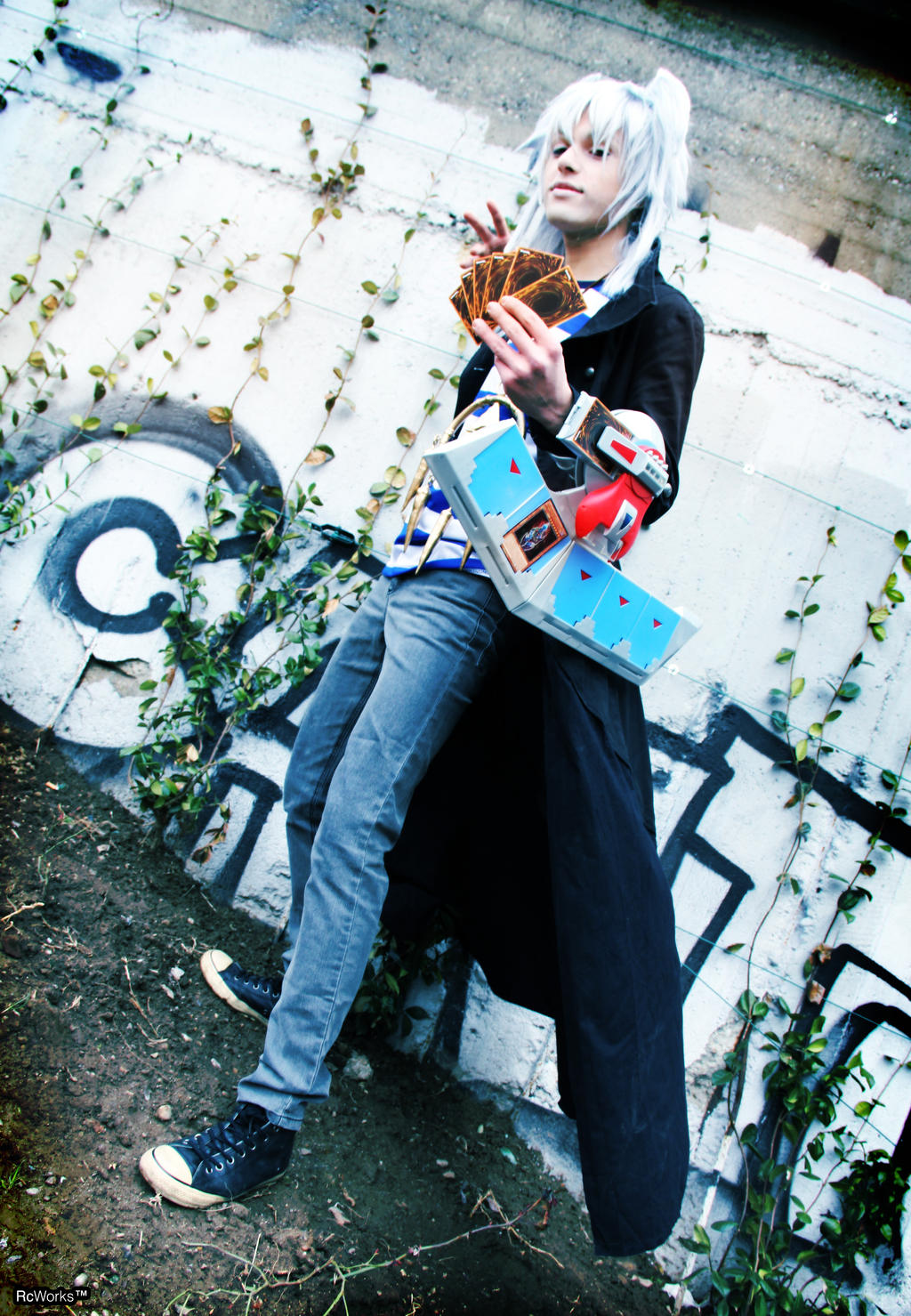 Fight! Yami Bakura by hakucosplay
