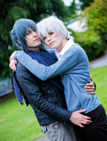 Shion and Nezumi by hakucosplay