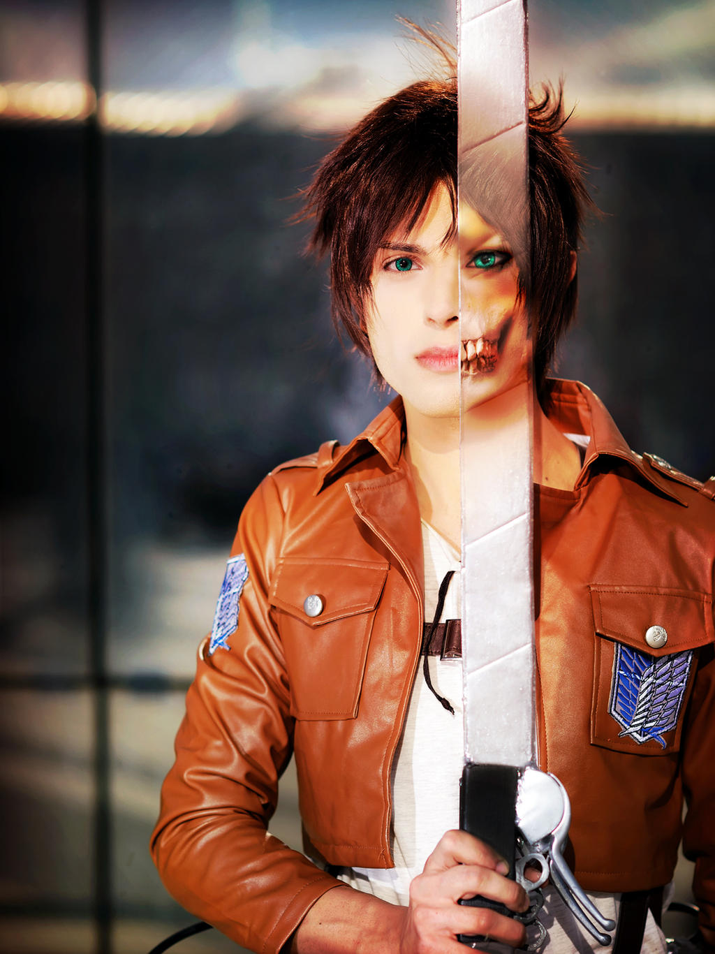 Image result for cosplay eren yeager