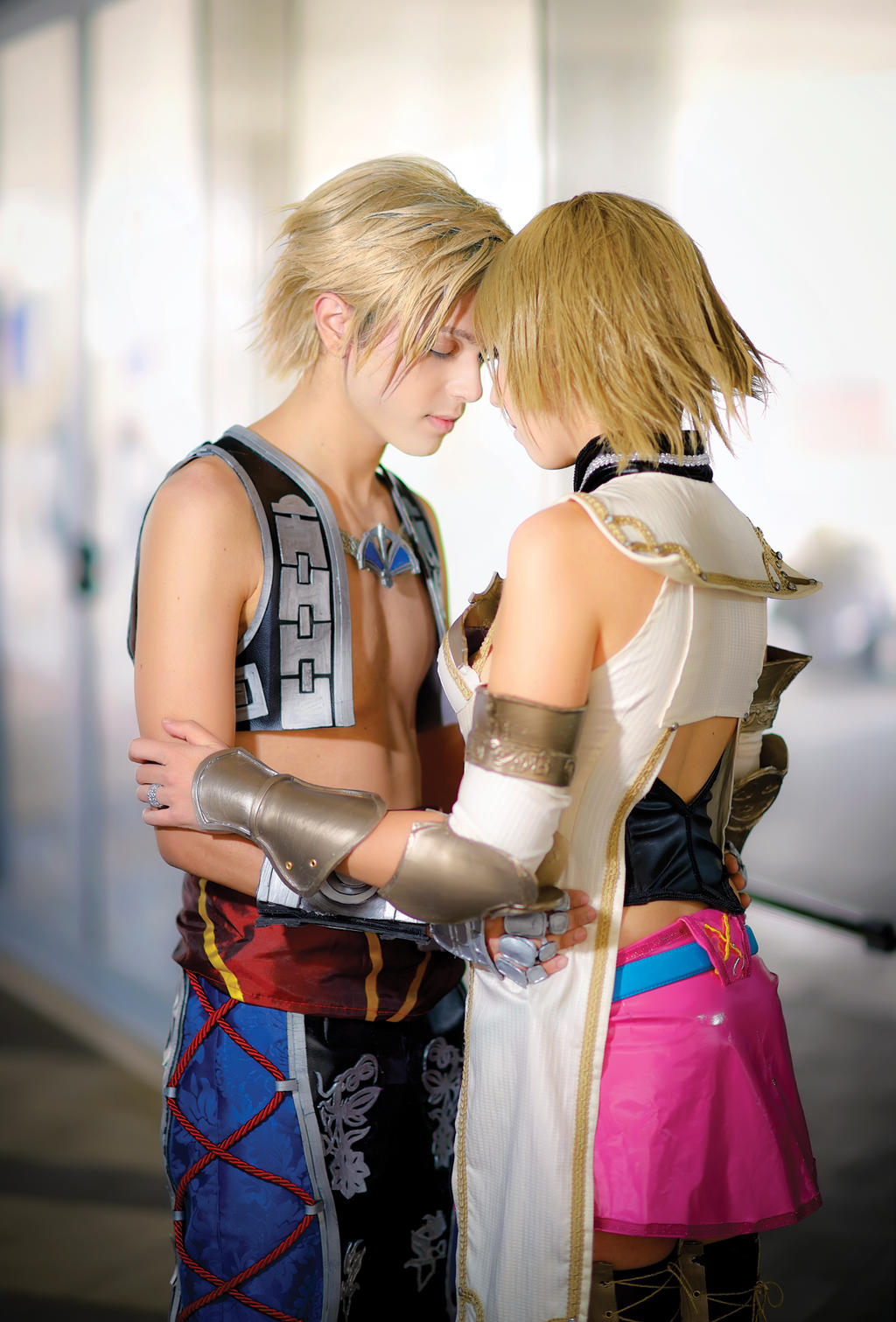 Vaan and Ashe Cosplay, FFXII. Together by hakucosplay