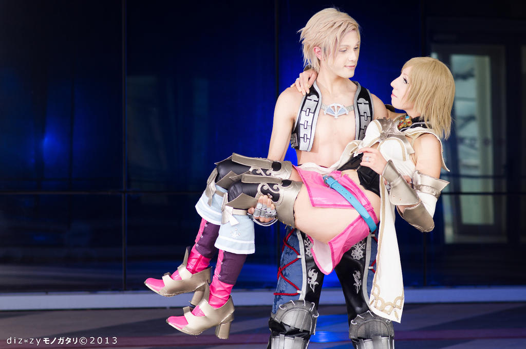 Vaan and Ashe Cosplay, FFXII by Hadukoushi