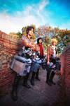 Eren, Armin, Mikasa Cosplay - Show off