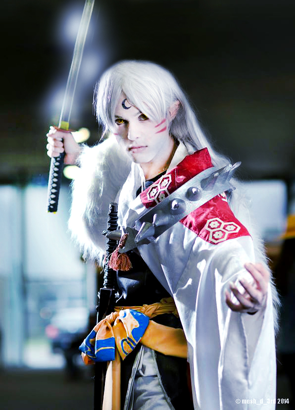 Tenseiga's Power, Sesshomaru Cosplay by hakucosplay