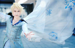 Elsa (Male Version Genderbend), Disney's Frozen by hakucosplay