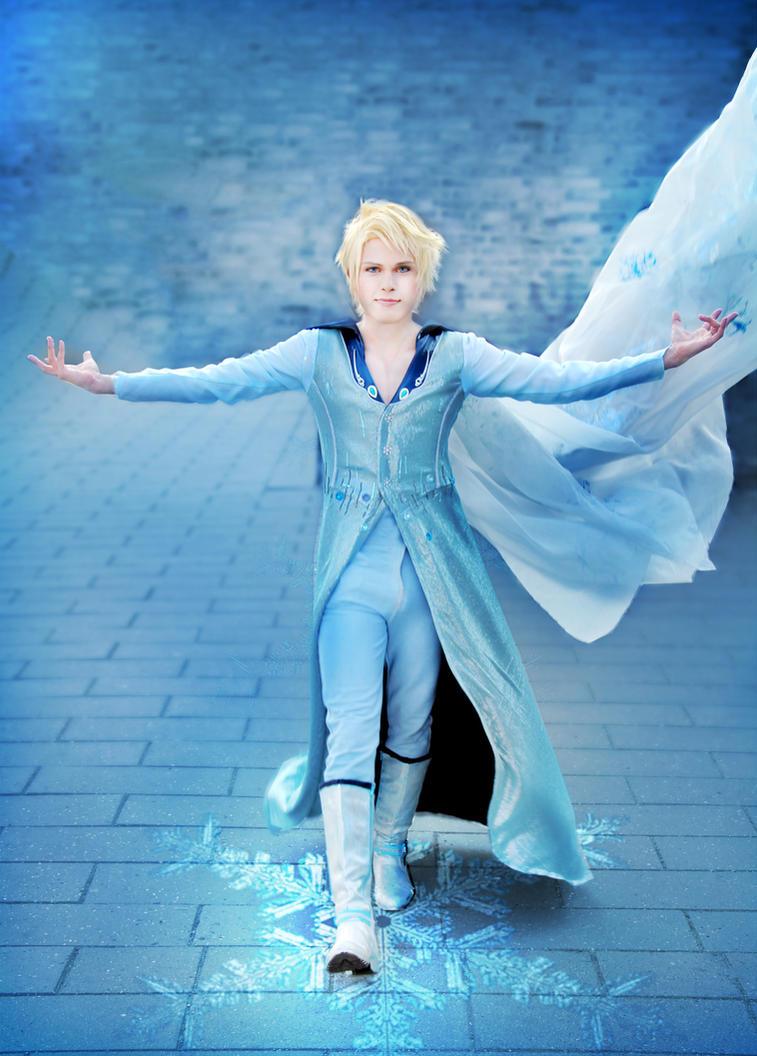 Elias (Elsa Male Version), Disney's Frozen by hakucosplay