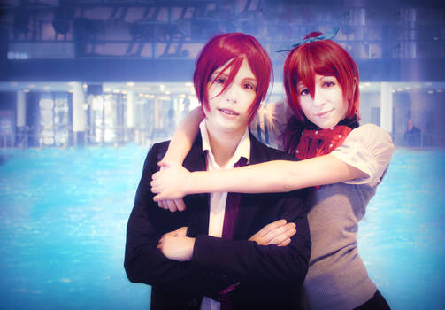 Rin and Gou Cosplay, Free!