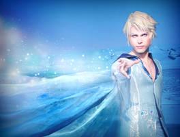 Elias (Elsa Genderbend), Disney's Frozen by hakucosplay