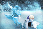 The End, Anna and Elsa Cosplay Genderswap