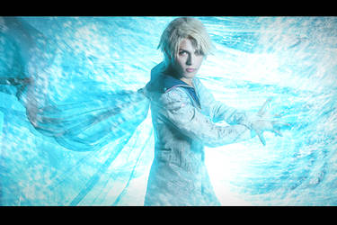 Elsa Genderbend, Power of ice by hakucosplay
