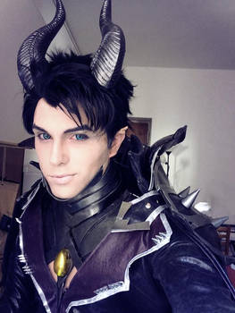 Maleficent Genderswap Cosplay, Sakimichan Design