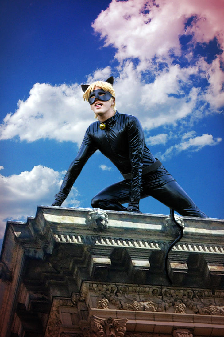 Cat Noir Cosplay, Miraculous Ladybug by hakucosplay