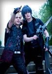 Look there! Prompto + Noctis Cosplay