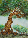 Treewoman or dryad