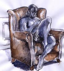 hank scribble by bluenique