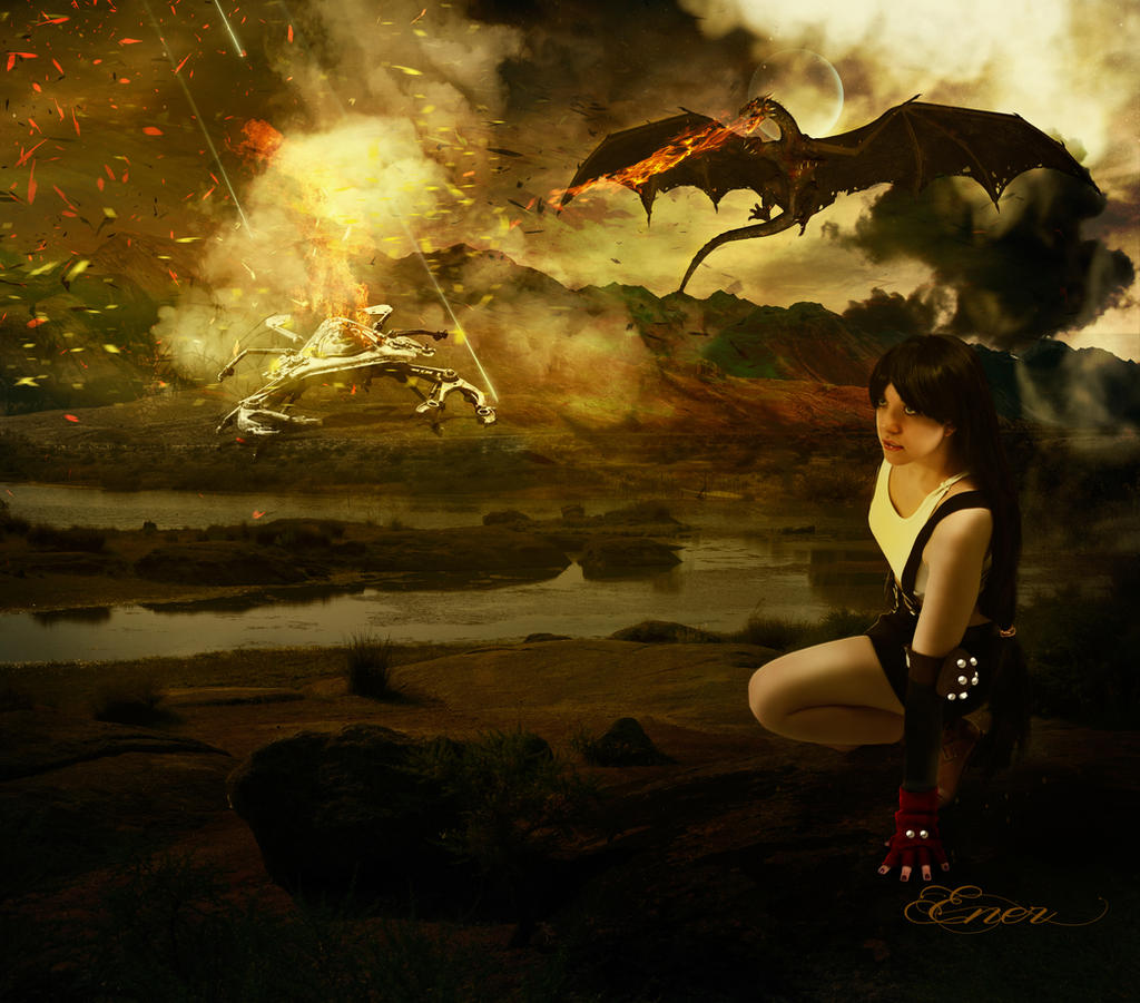 Battle of Tifa by Energiaelca1