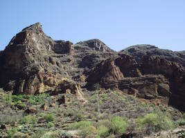 Stock Mountains Gran Canarias by Energiaelca1