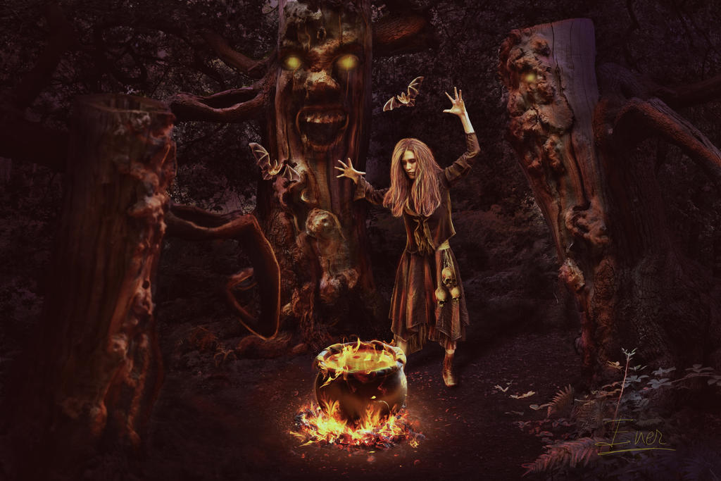 witches' sabbath by Energiaelca1