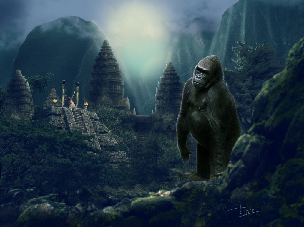 Tribute to king-kong by Energiaelca1