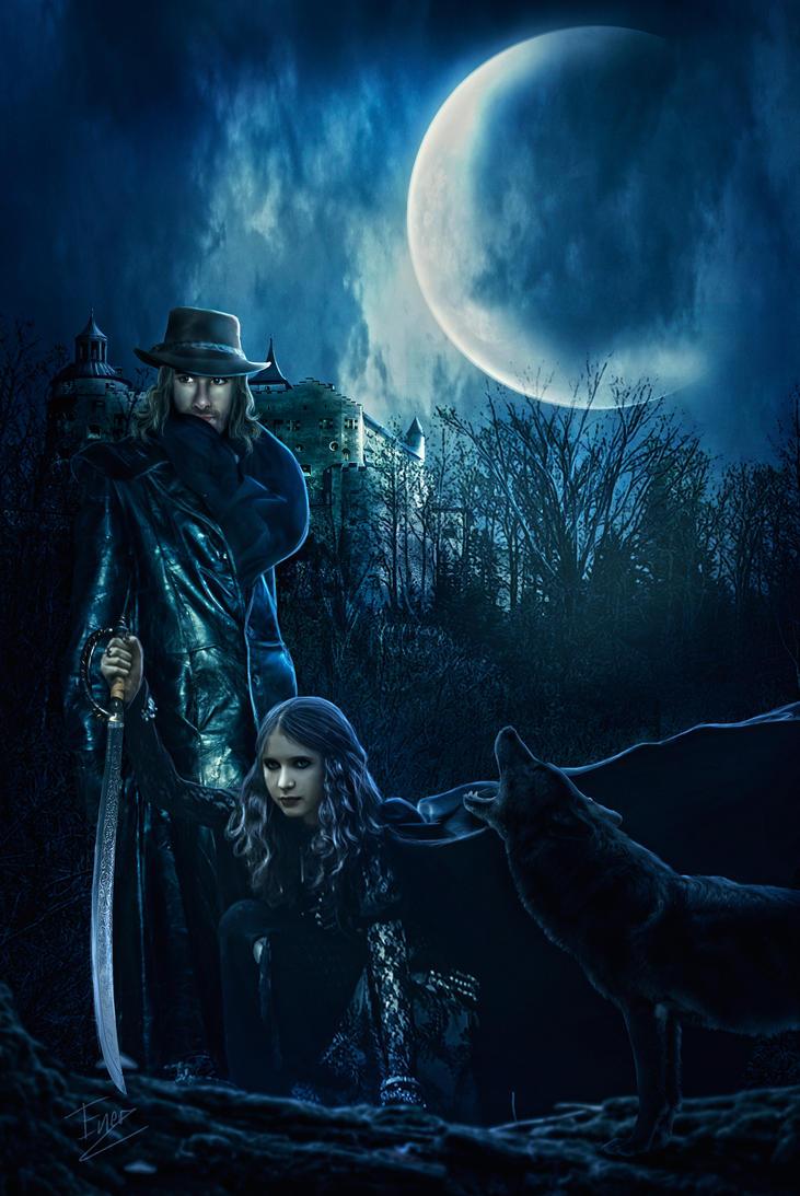 Van Helsing lurking by Energiaelca1