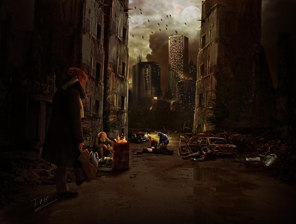 Human misery by Energiaelca1