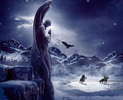 Winter Angel by Energiaelca1