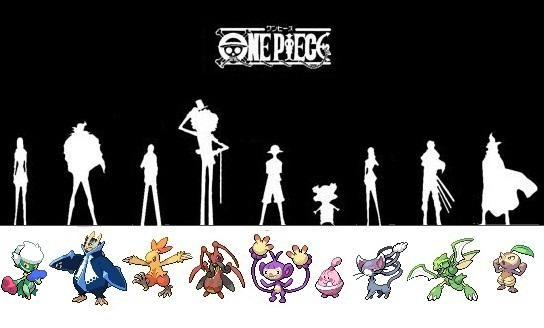 if one piece was pokemon by okami hikari on deviantart
