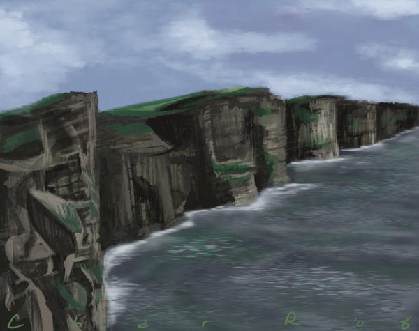 Cliffs by CharReed