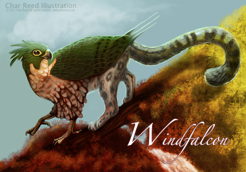 Windfalcon Badge Commission by CharReed